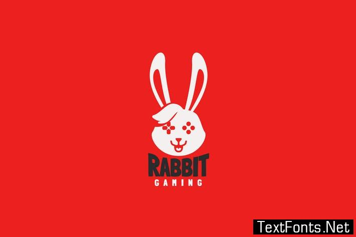 Rabbit Gaming Logo Template