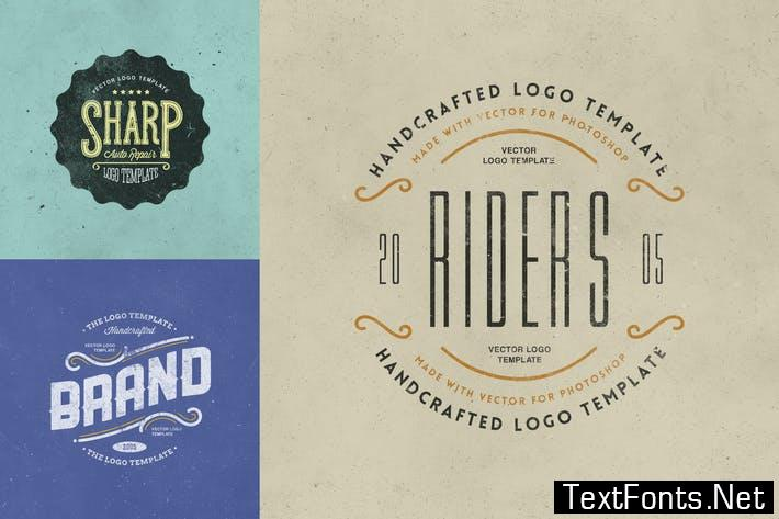 Retro Logo Templates V.03 P958C7