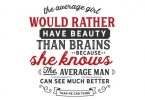 The Average Girl - Typography Graphic Templates