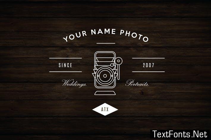 Vintage Camera Logo CGJ4N5