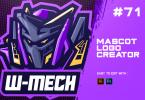 W-MECH - E-Sports Logo Creator EH9REXH