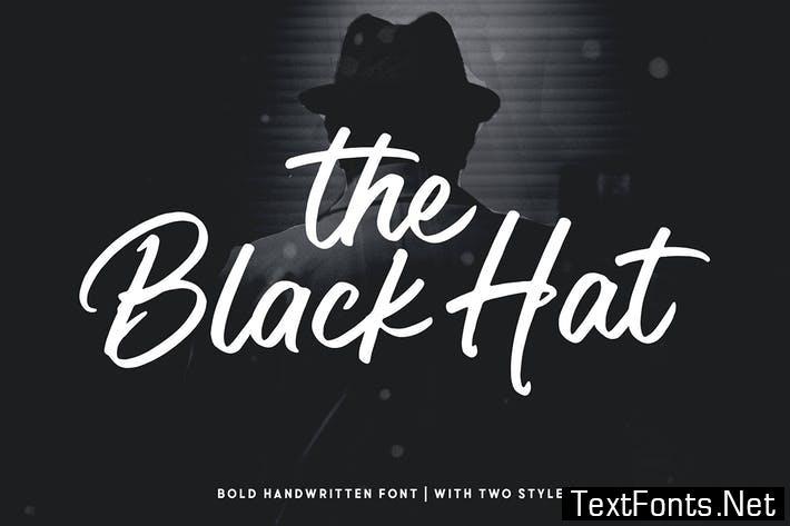 Black Hat Font