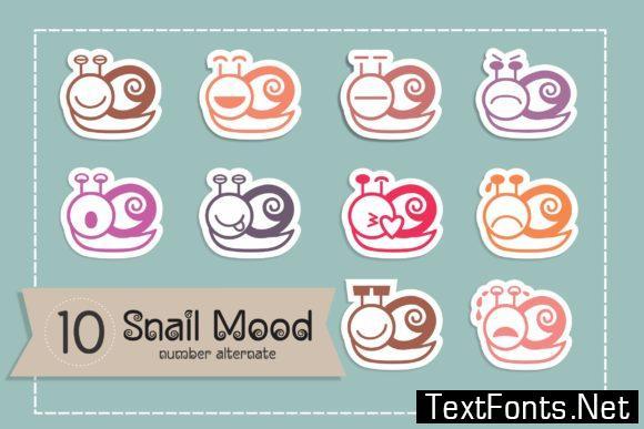 Snail Mood Font
