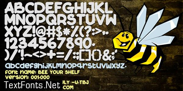 Bee Your Shelf Font