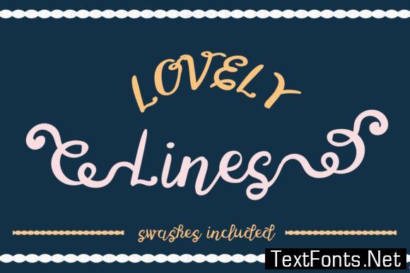 Lovely Lines Font