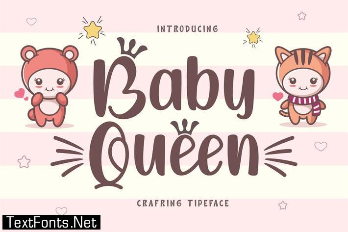 Baby Queen Display Font