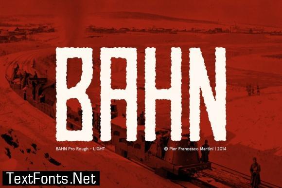 Bahn Light Font