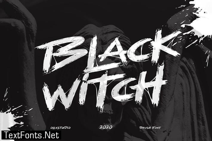BLACK WITCH - Brush