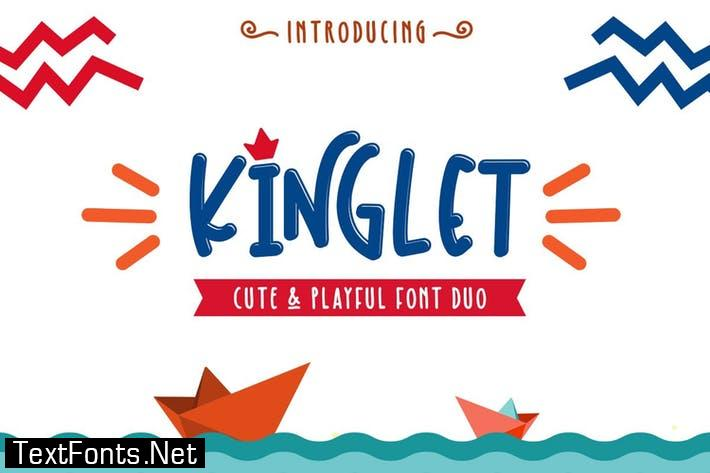 Kinglet - Cute Font Duo