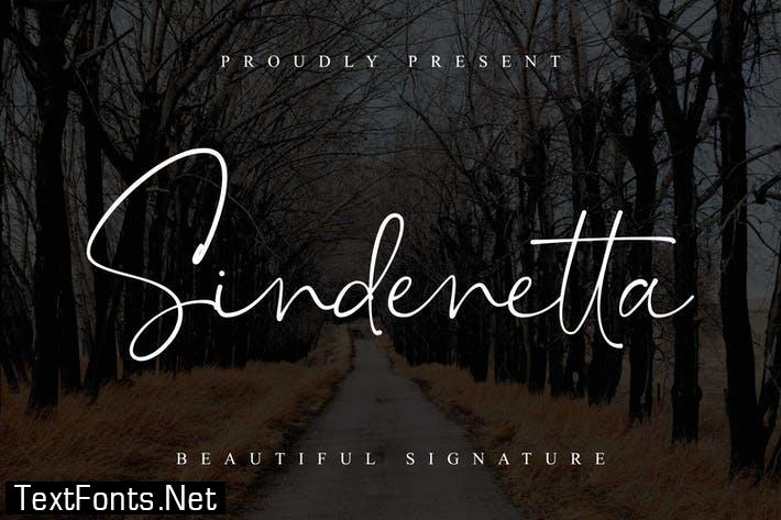 Sindenetta - Beautiful Signature Font