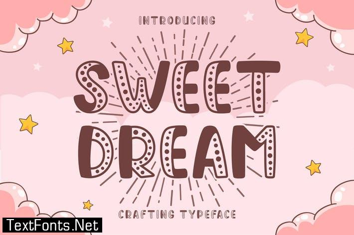 Sweet Dream Display Font