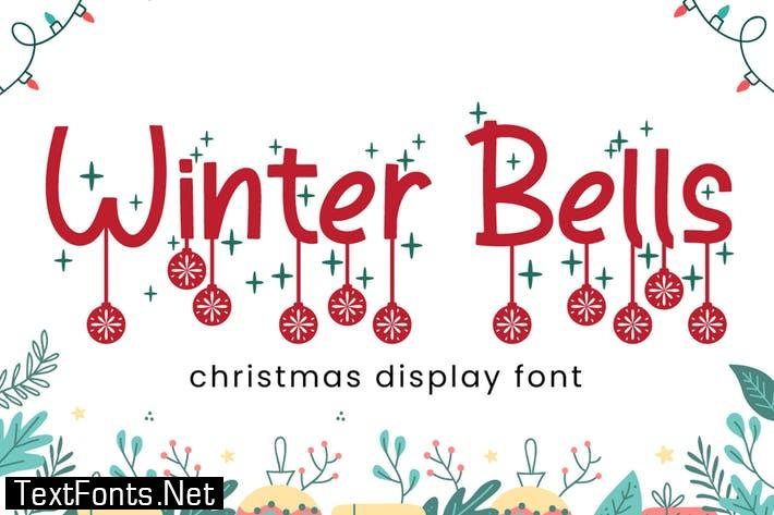 Winter Bells - Christmas Font