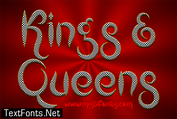 Kings and Queens Font4