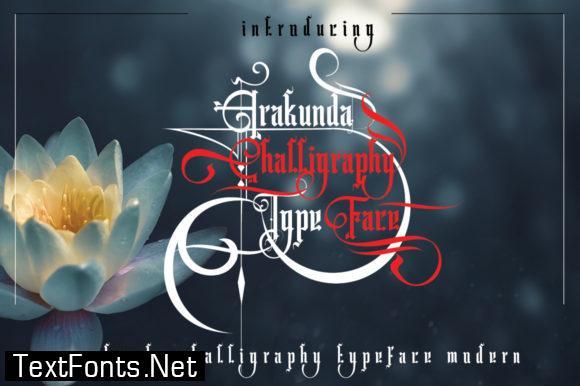Arakunda Font