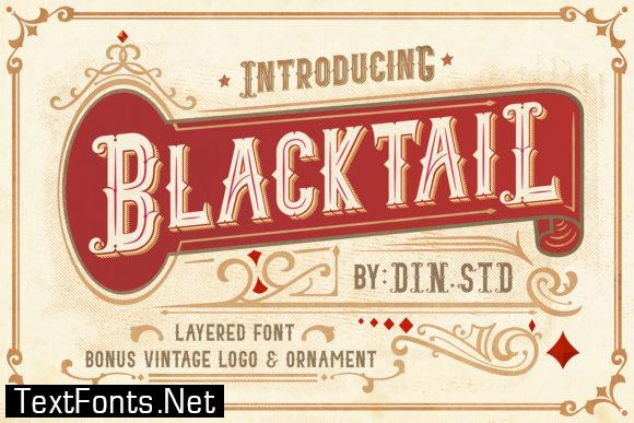Blacktail Family Font