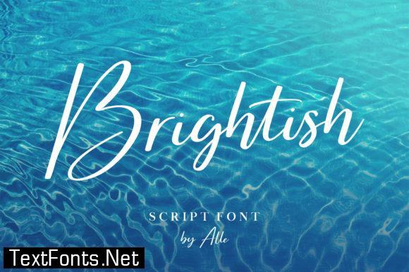 Brightish Font