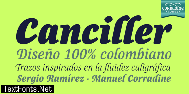 Canciller Family Font