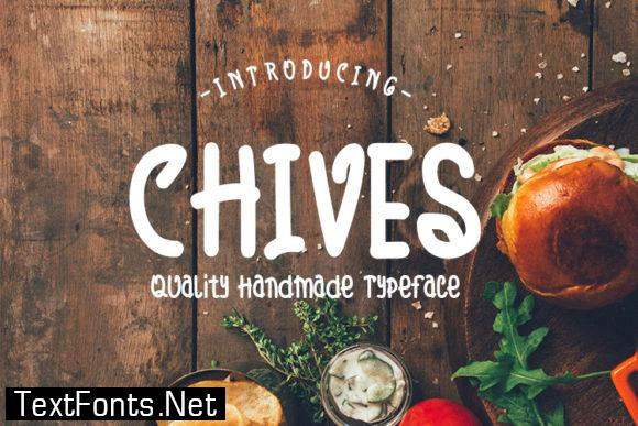 Chives Font