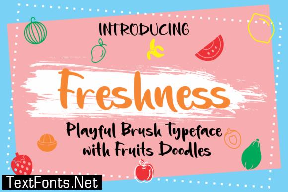 Freshness Font