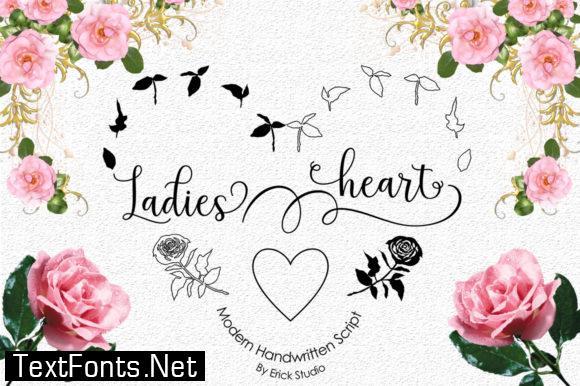 Ladies Heart Font