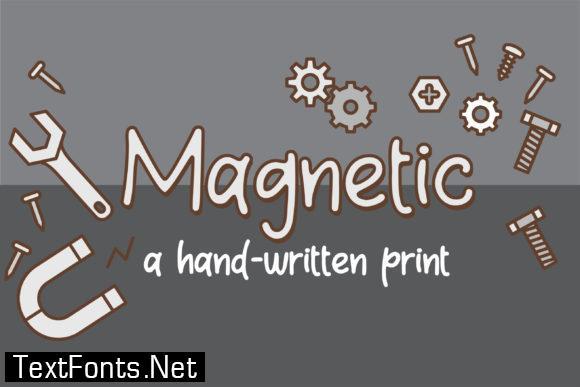 Magnetic Font
