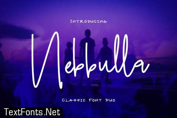 Nebbulla Duo Font