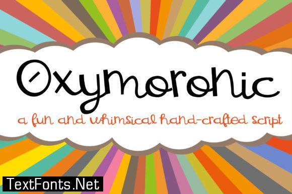 Oxymoronic Font