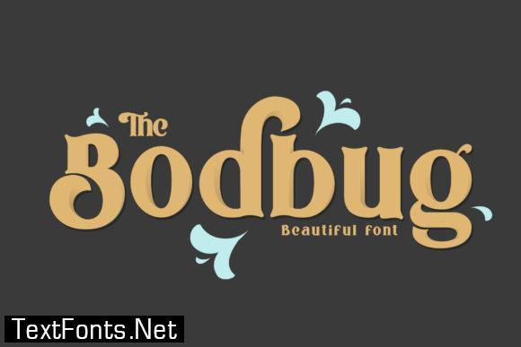 The Bodbug Font