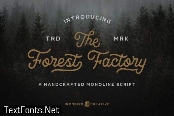 The Forest Factory Font