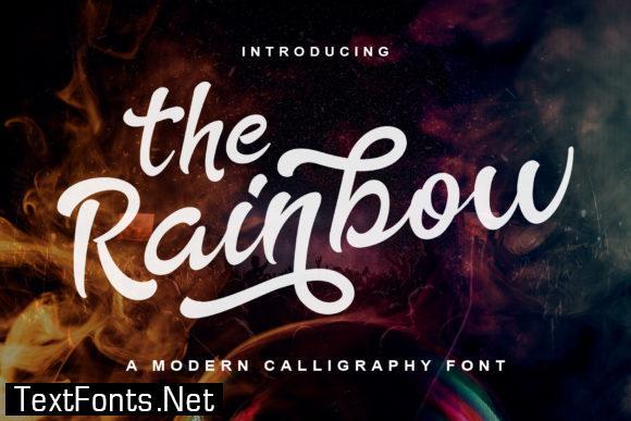 The Rainbow Font