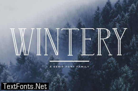 Wintery Family Font