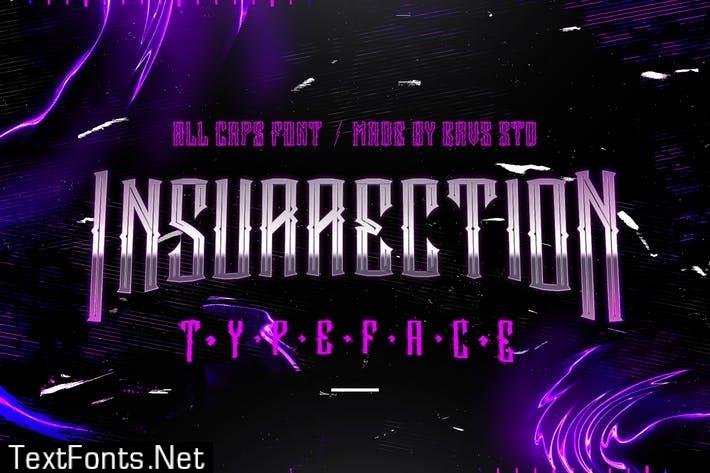 GRVS Insurrection all caps Font