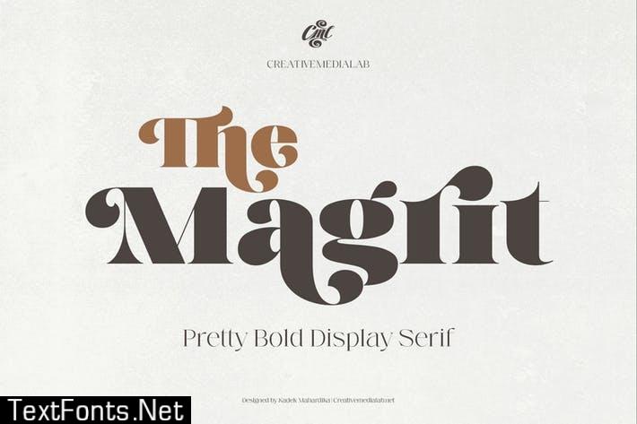 Magrit - Pretty bold display serif