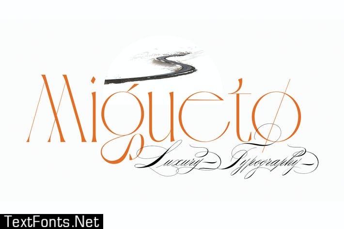 Migueto | Serif Typeface