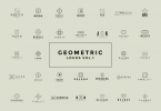 50 Geometric Logos Vol.1