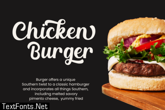 Chicken SandwichFont