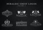 Heraldic Crest Logos Set 2