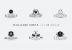 Heraldic Crest Logos Vol.8