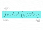 Jendral Writing Signatures