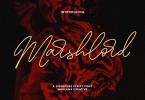 Marshlord Signature Script Font