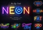Neon Wall Logo Creator