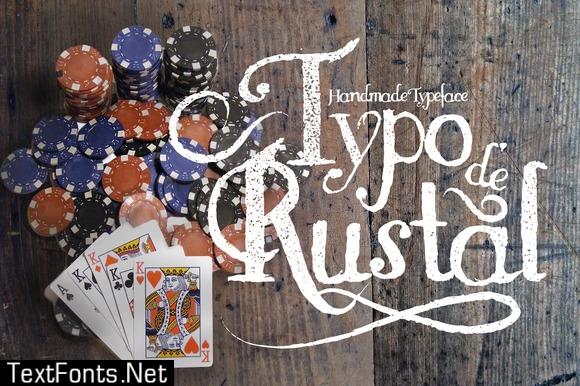 Rustal Typo Font