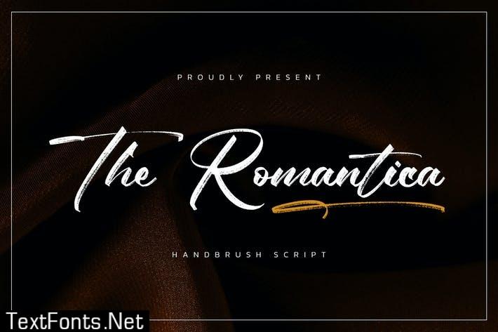 The Romantica - Handbrush Script