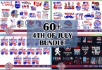 4th of July Graphic Cutfiles Bundle