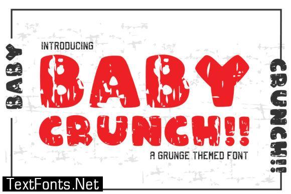 Baby Crunch!! Font
