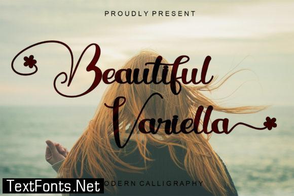 Beautiful Variella Font