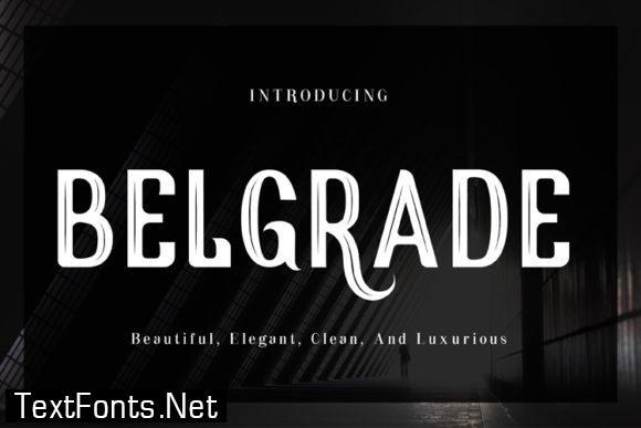Belgrade Font
