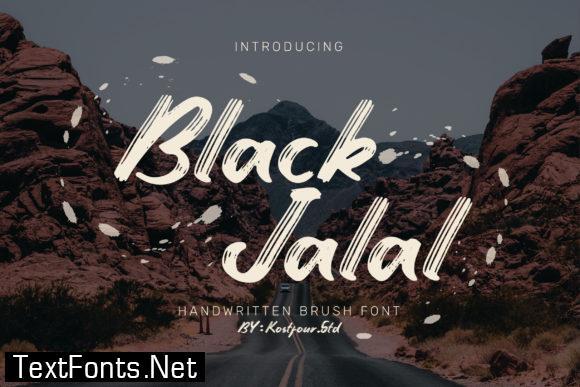 Black Jalal Font