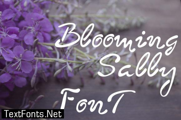 Blooming Sally Font