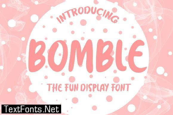 Bomble Font